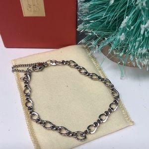 James Avery 925 Medium Twist Charm Bracelet